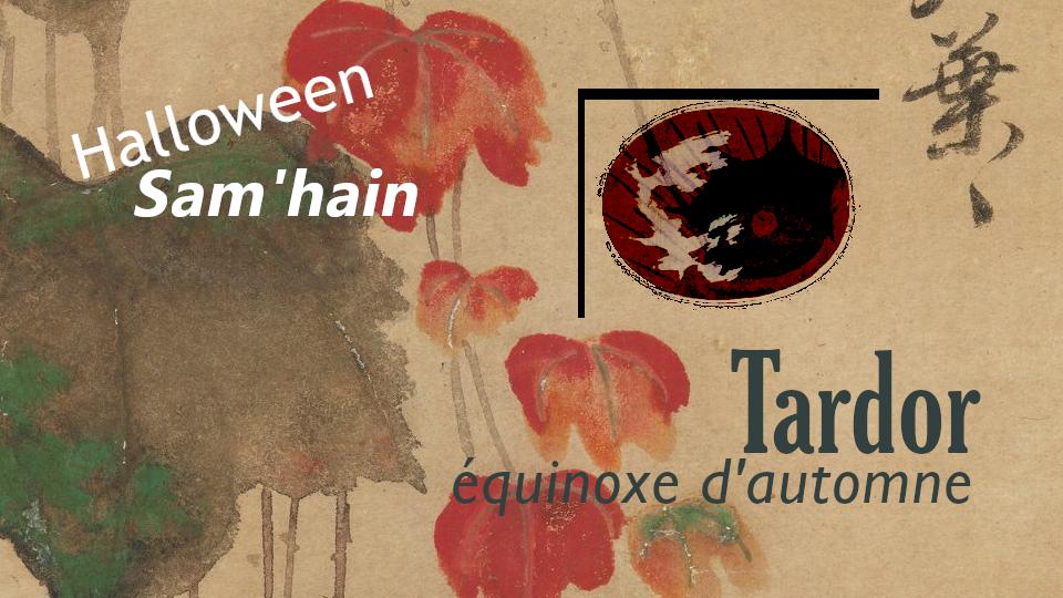 Halloween Sam'hain Tardor equinoxe d'automne